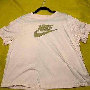 Pink Nike Sportwear Women's TShirt